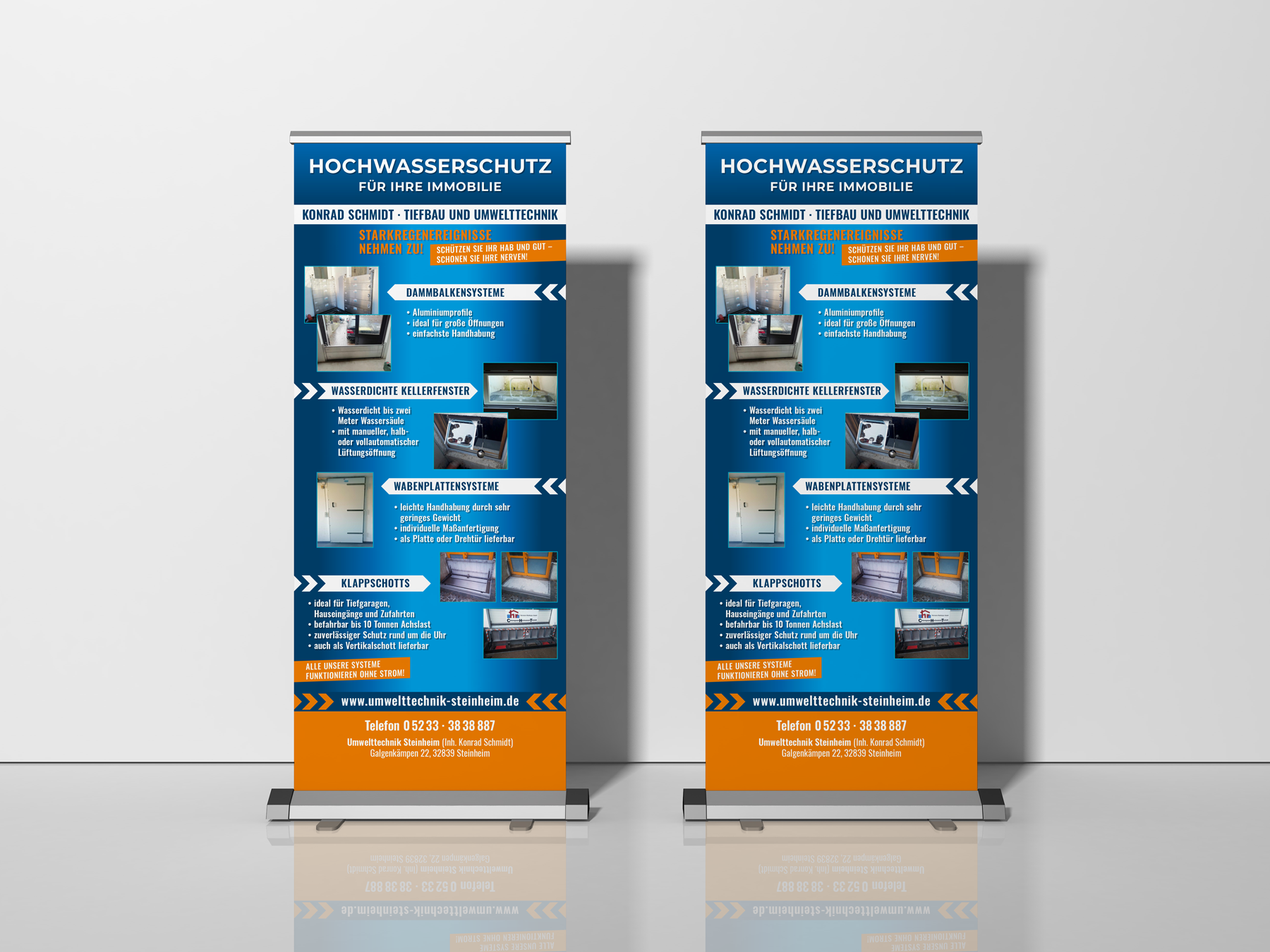 Roll-up-Messe-Display
