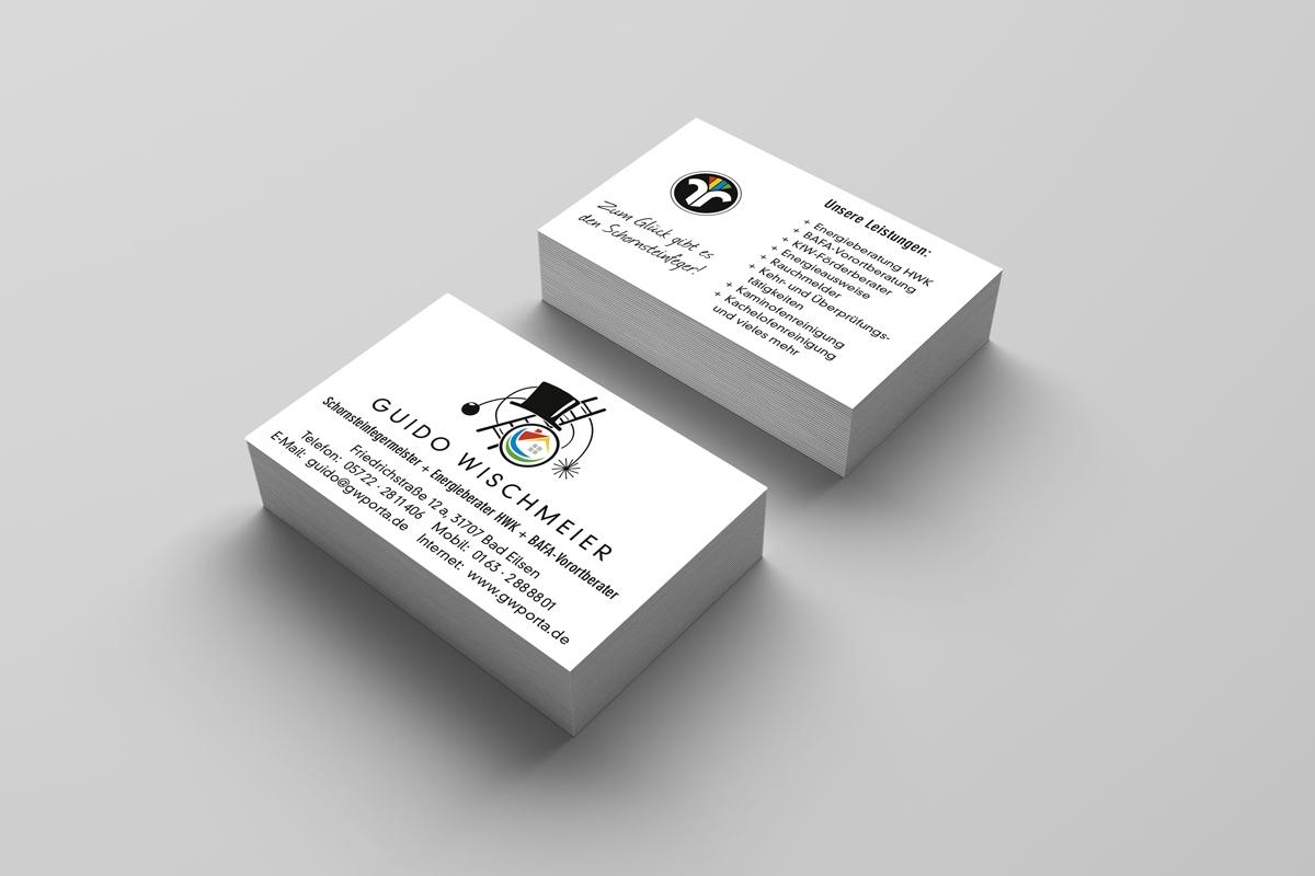 Visitenkarten Schornsteinfeger