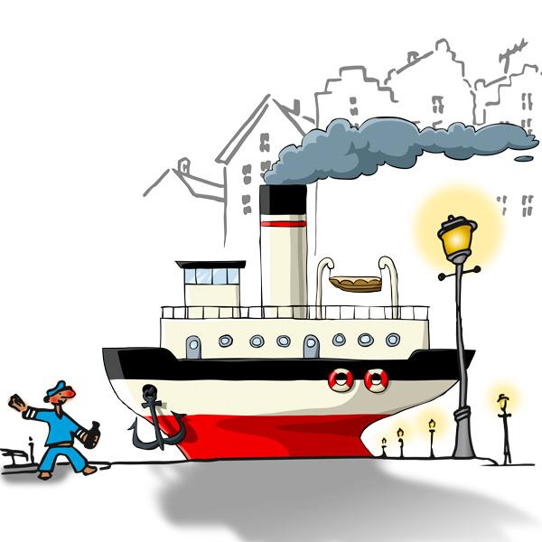 Illustration im Comik-Stil