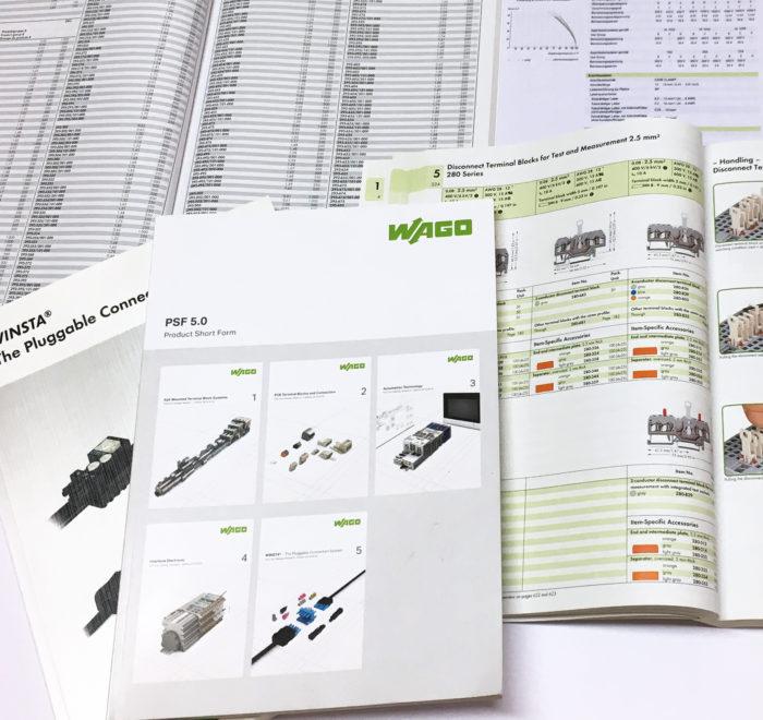 umfangreiche Kataloge und Preislisten